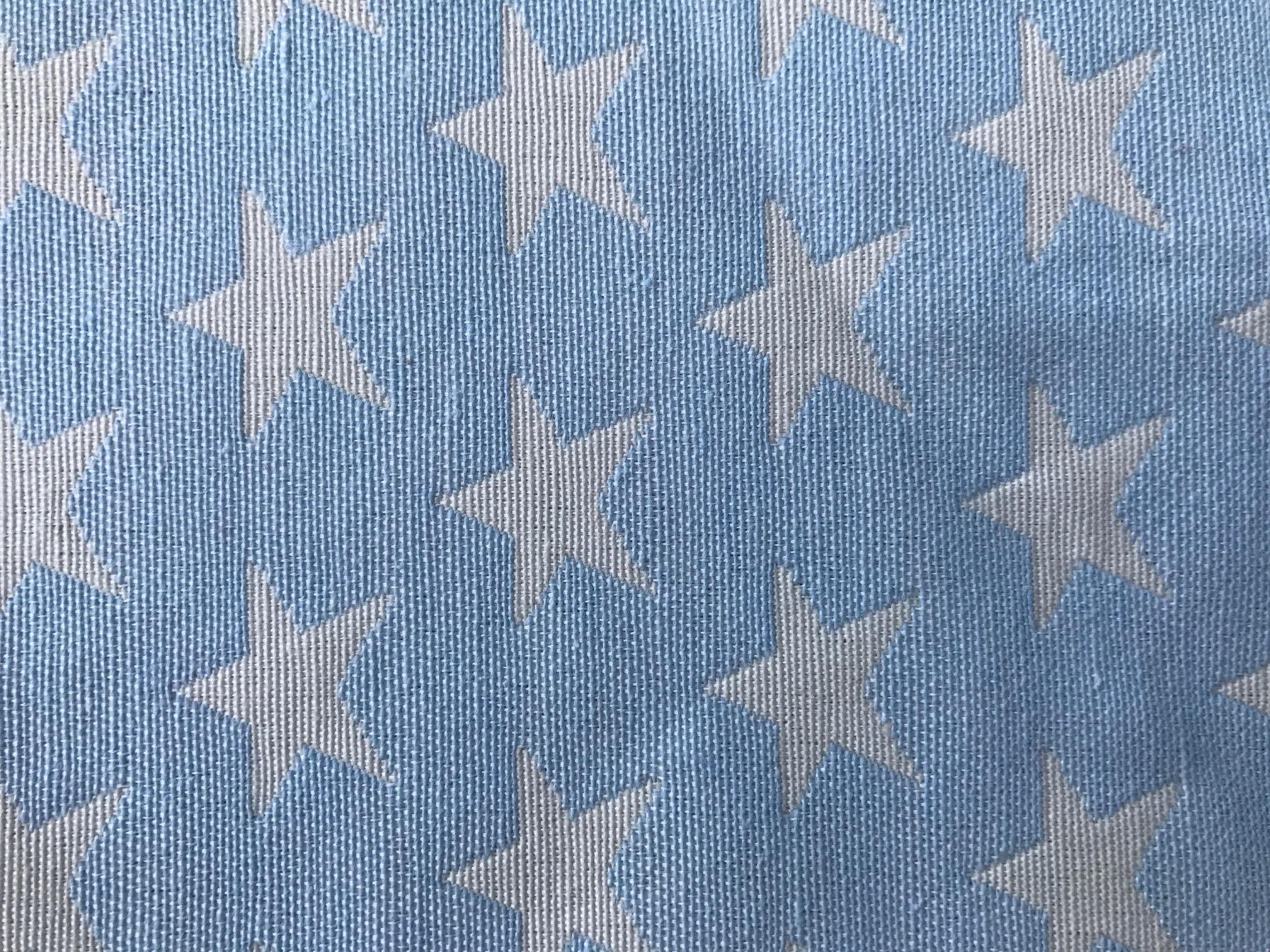 Star Azul con Blanco