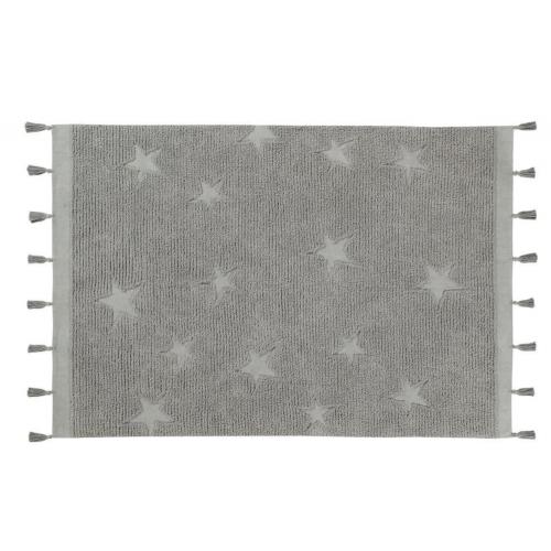 Alfombra Hippy Stars Grey Lorena Canals