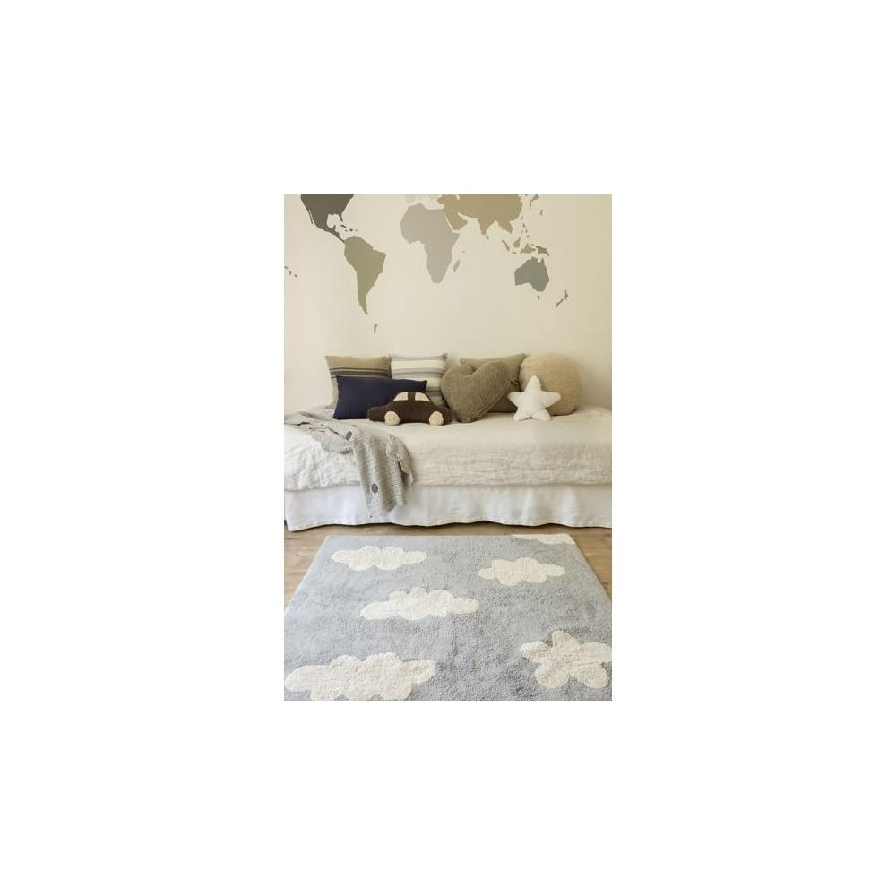 Alfombra clouds gris lorena canals - Lorena canals alfombras ...