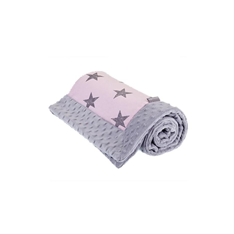 Manta Polar Reversible Star Pink Cottonmoose