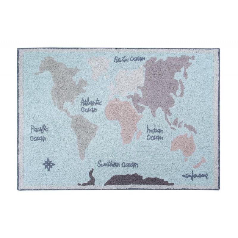 Alfombra Vintage Map Lorena Canals