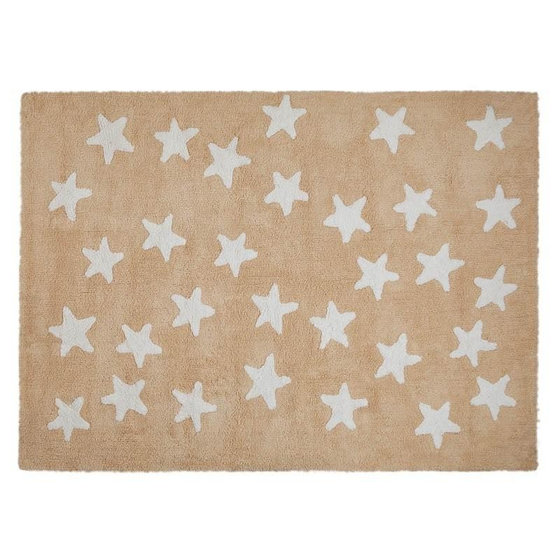 Alfombra Star Messy Nude-Blanco Lorena Canal
