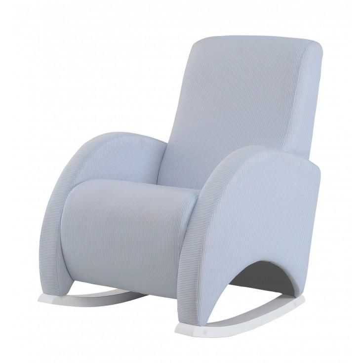 Confort Tela Rayas Azul