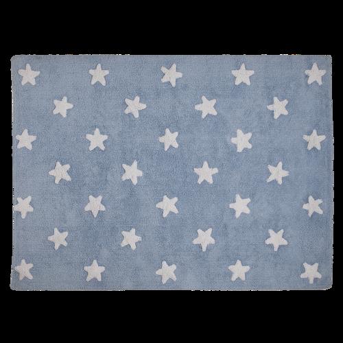 Alfombra Estrella Azul Lorena Canals